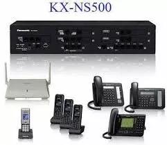 Central pabx hibrida ip panasonic ns 500 6 linhas 16 ramais