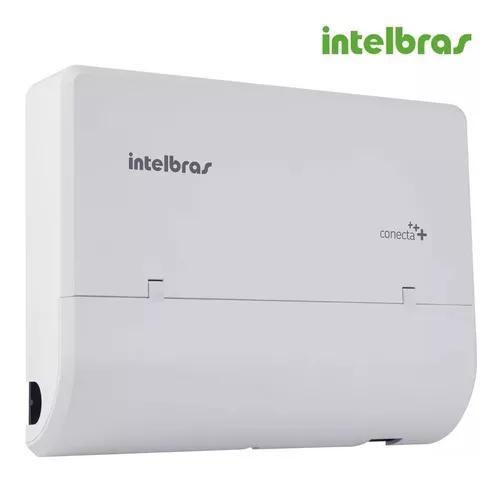 Central telefônica pabx modulare intelbras 4 l 12 r + disa