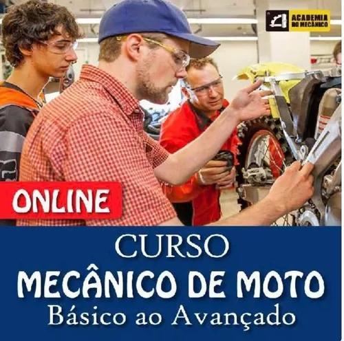 Curso de mecânico de moto