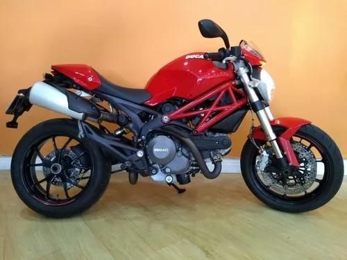 Ducati monster 796 2013 vermelha