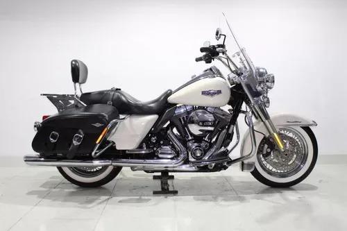 Harley davidson road king classic 2014 branca