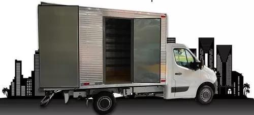 Renault master chassi com bau 2020 branco 5 portas