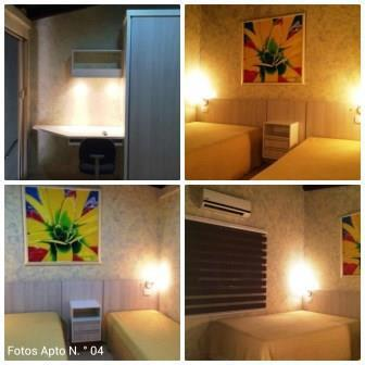 Apartamento/flat – mobiliado para estadia temporária –