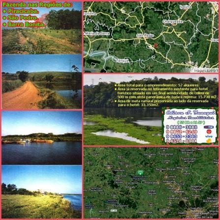Fazenda de 52 alqueires paulista, em tanquã - são pedro-sp