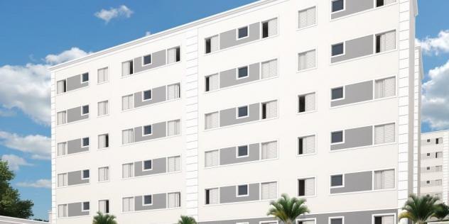 Pronto minha casa minha vida edifício Santa Lucia lindo
