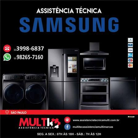Samsung eletrodomésticos reparo, conserto e instalação