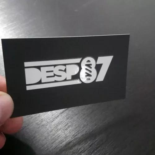 1000 cartão de visita 300g-laminação fosca+verniz