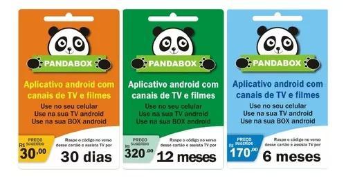 Aplicativo panda tv e filmes