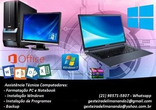 Assistência técnica computadores