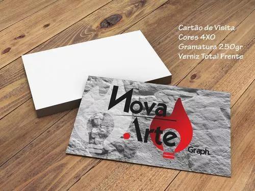 Cartão de visita 4x0