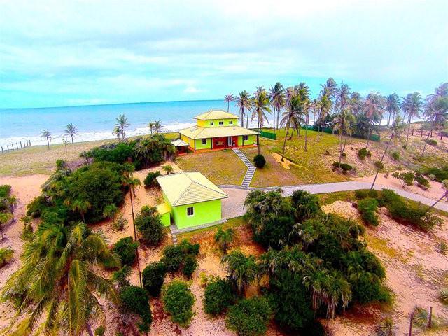 Casa frente mar praia bahia 4027m2 norte salvador