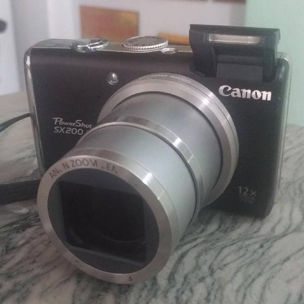 Câmera canon powershot sx 200 is