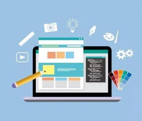Criação de site + hospedag