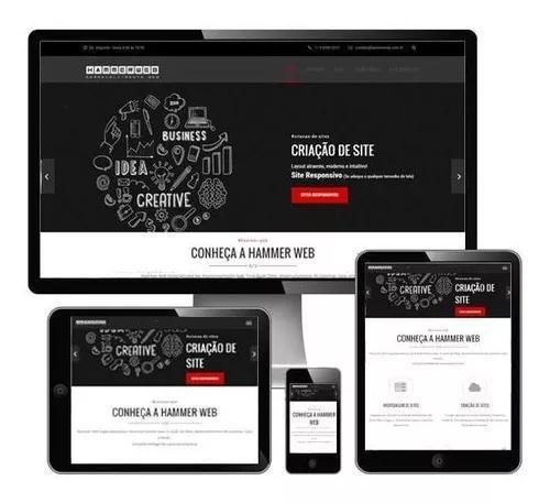 Criação de site - website