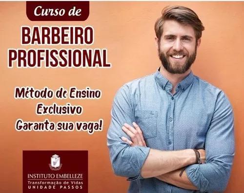 Curso de barbeiro online curso 100 % de satisfação