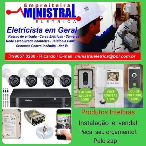 Eletricista Zona Norte E Região (Câmeras Alarmes
