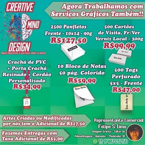Gráfica - cartões de visita - panfletos e muito mais!!