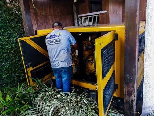 Instalação e manutenção de grupos geradores de energia