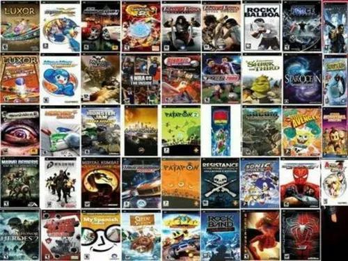 Jogos de psp envio digital muitos jogos diponiveis 12,00