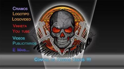 Kit youtuber: vinheta intro / capa banner / logo video