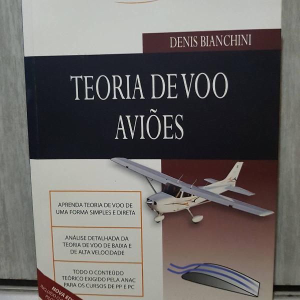 Livro teoria de voo - aviões (bianch)