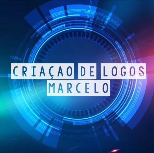 Logo marca, market digital, criação de logo, corel