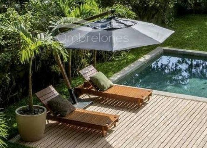 Melhor opção em ombrelones de madeira (direto de