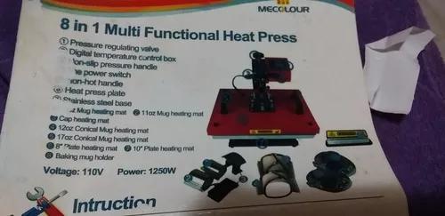 Prensa térmica mercolour 8