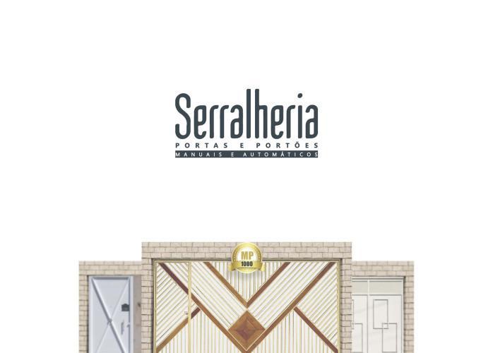 Serralheria portas e portões manuais e automáticos