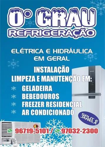 Serviços eletrica, hidráulica e instalação de ar