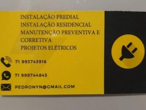 Serviços elétricos predial e residencial. manutenção