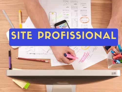 Site profissional,
