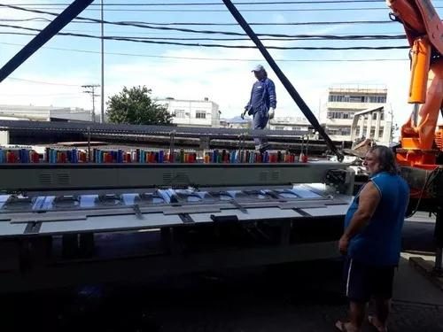 Transportes de maquina de bordar