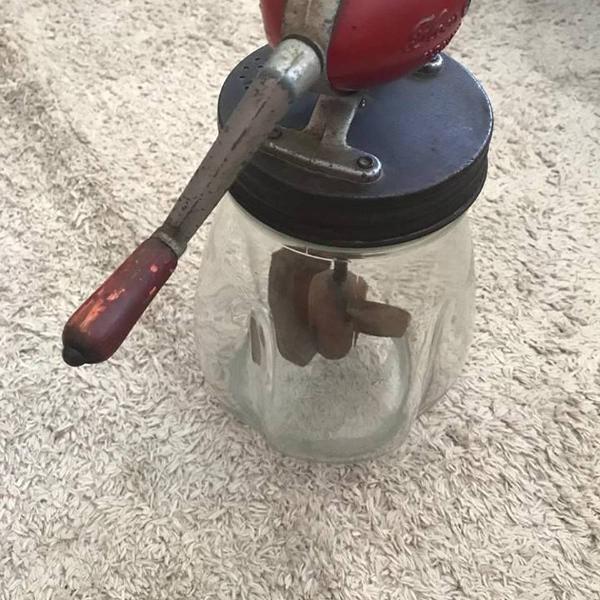 Batedor de manteiga blow inglaterra anos 1940