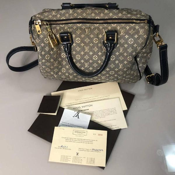 Bolsa louis vuitton speedy bandouliere original.