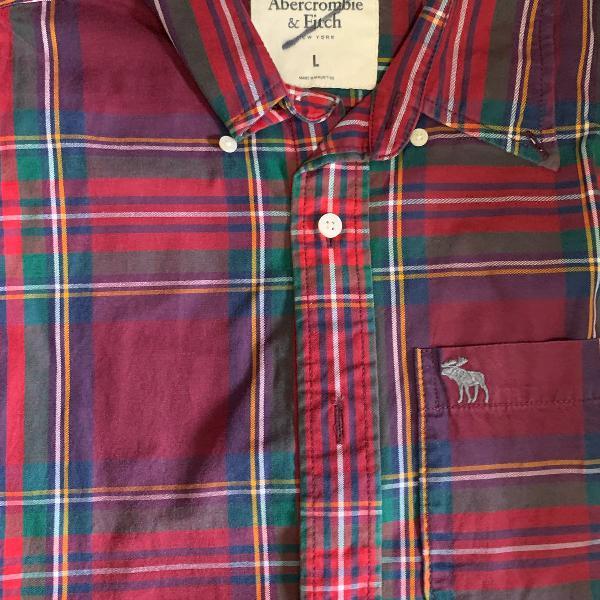 Camisa masculina abercrombie original