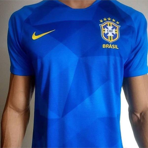 Camisa seleção brasileira azul