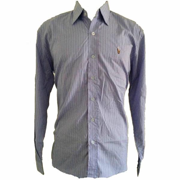 Camisa social masculina ralph lauren tam m listrado