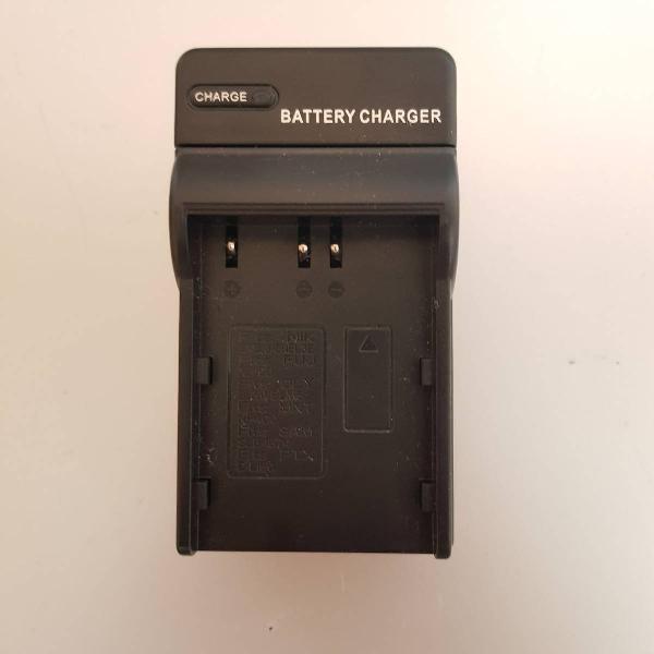 Carregador de bateria para câmeras