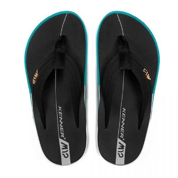 Chinelo 44 sandália kenner action gel m12 azul / preto
