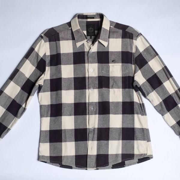 Ellus- camisa de flanela xadrez muito estilosa