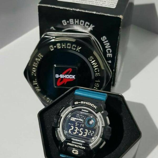 g shock g 8900 sc 1bdr, unico no enjoei raro com pulseira
