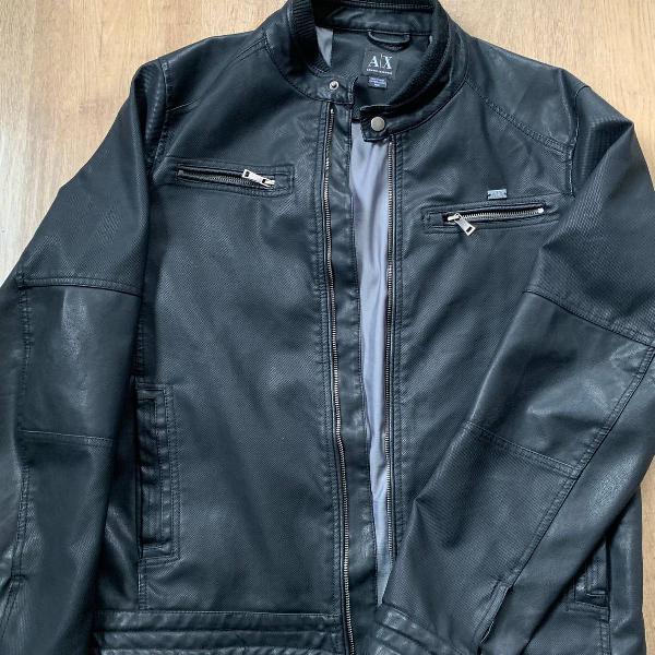 jaqueta couro sintetico