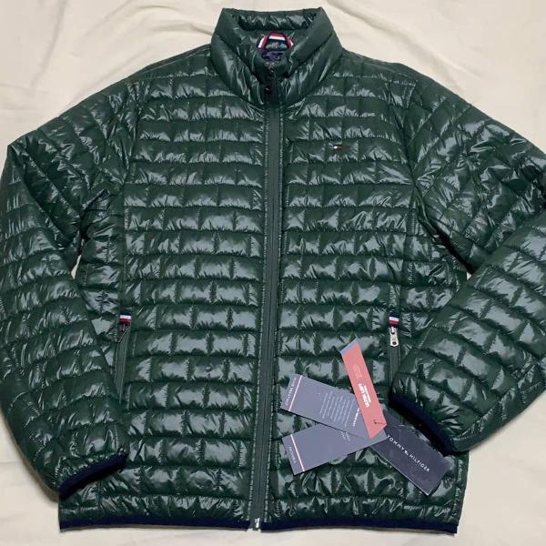 Jaqueta verde tommy hilfiger
