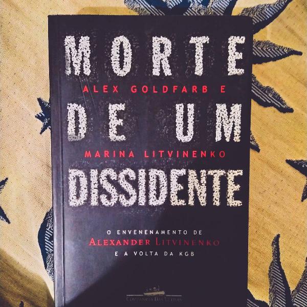 Livro morte de um dissidente