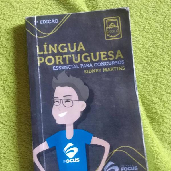 Língua portuguesa para concursos.
