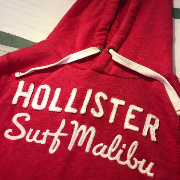 Moletom hollister (hoodie)
