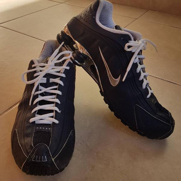 Nike shox r4 azul marinho