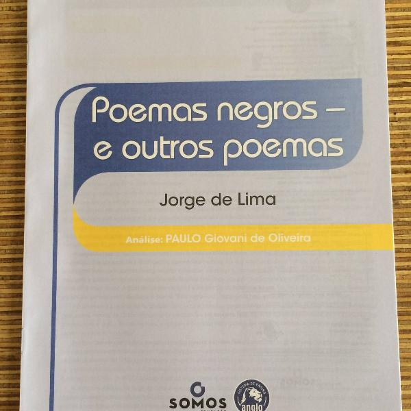 poemas negros e outros poemas - anglo
