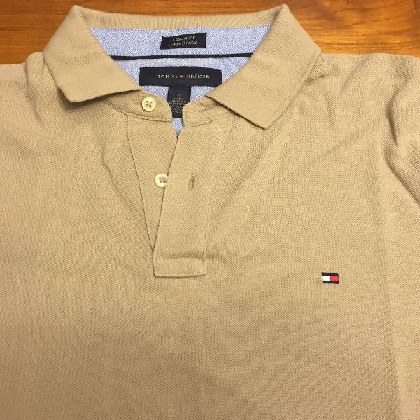 Polo tommy bege